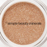 CHAMPAGNE ICE MINERAL EYESHADOW  |  simplebeautyminerals.com