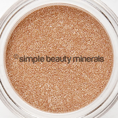 champagne ice mineral eyeshadow - simple beauty minerals