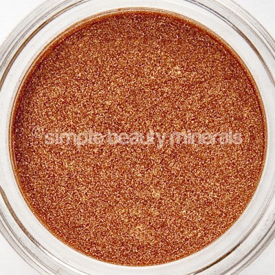 Copper Glam Mineral Powder | Simple Beauty Minerals