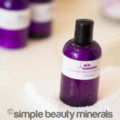 Essential Mineral Foaming Gel Cleanser | Simple Beauty Minerals