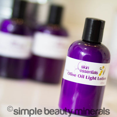 Olive Oil Light Lotion | Simple Beauty Minerals