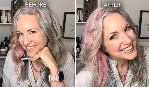 terracotta makeup look before and after