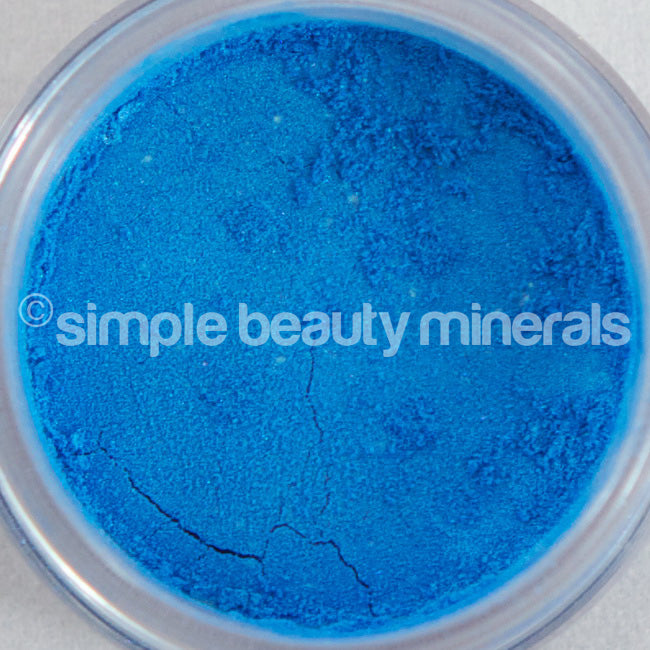 Swimming Pool Blue Eyeshadow - simplebeautyminerals.com