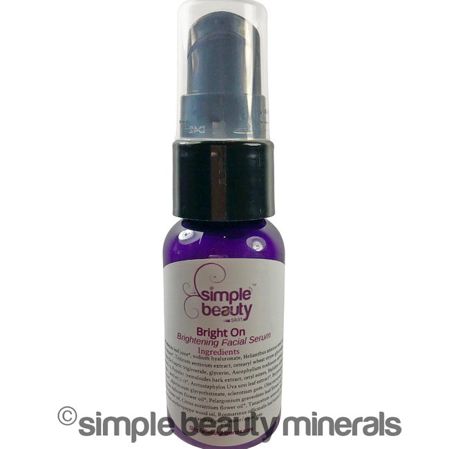 simpe beauty minerals - Bright On – Brightening Facial Serum