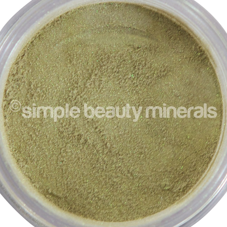Celery Mineral Eyeshadow - Simple Beauty Minerals
