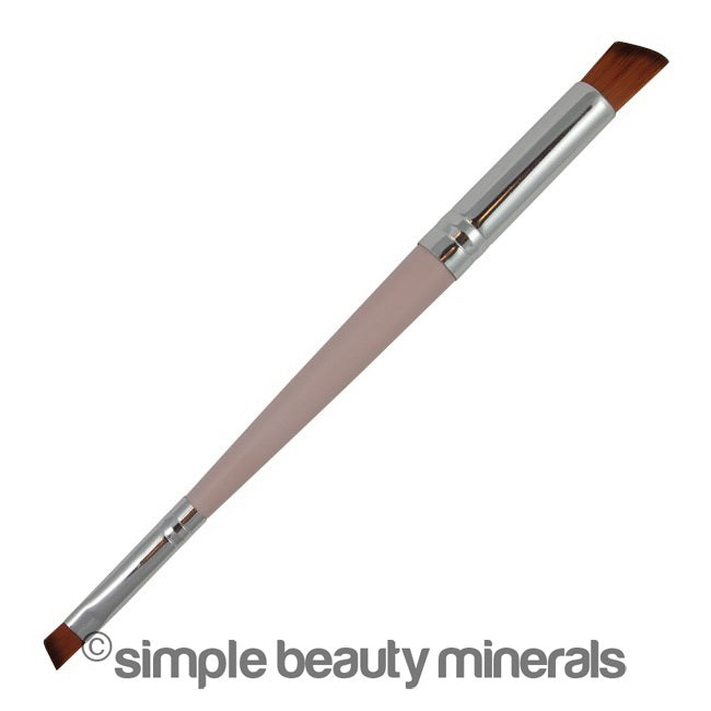 Double Sided Angled Eye Shadow Brush