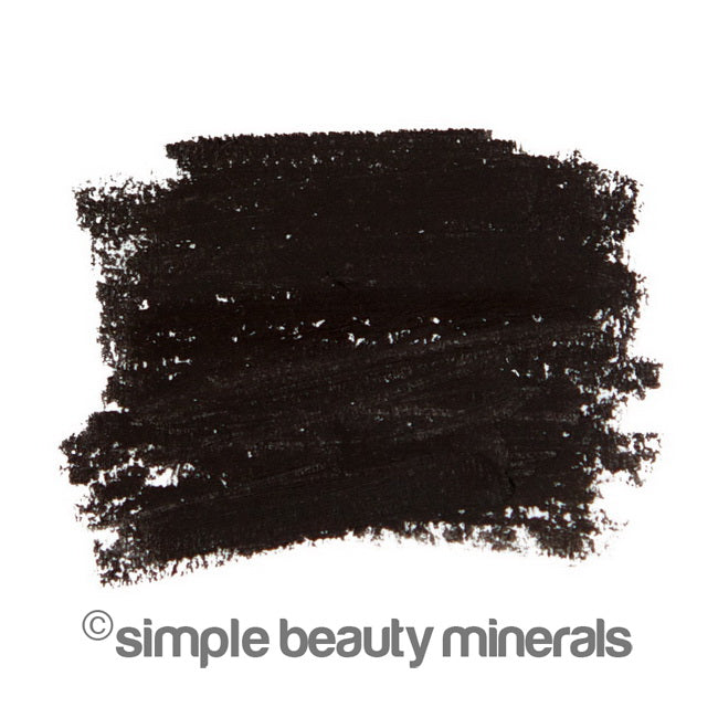 Simple Beauty Minerals - Ebony Black Mineral Eyeliner Pencil