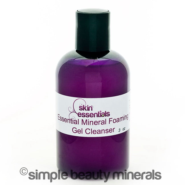 simpe beauty minerals - Essential Mineral Gel Cleanser