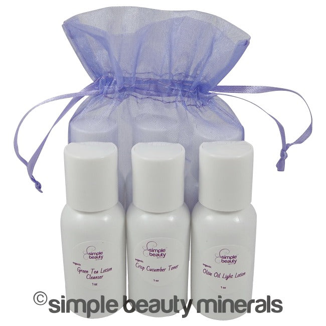 simpe beauty minerals - Comfortable Skin Travel Kit