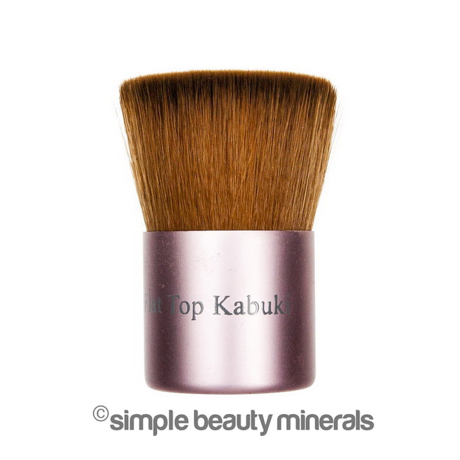 Simple Beauty Minerals - Flat Top Buffer & Bronzer Brush