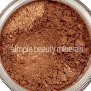 Simple Beauty Minerals - Glimmer Goddess Face Bronzer