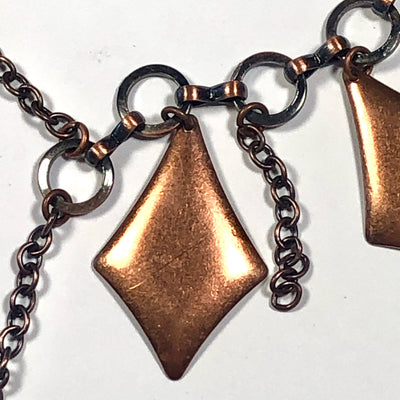 NEW! The Copper Intrigue Necklace Set