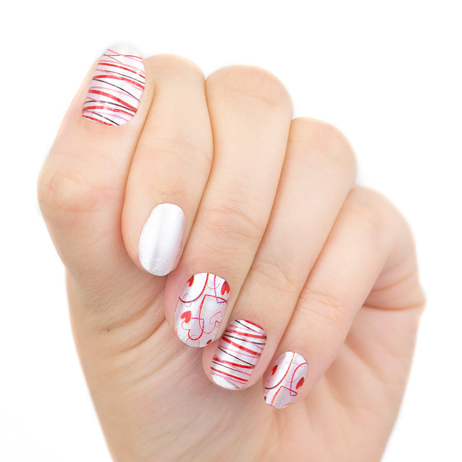I'm With Cupid Real Nail Polish Strips