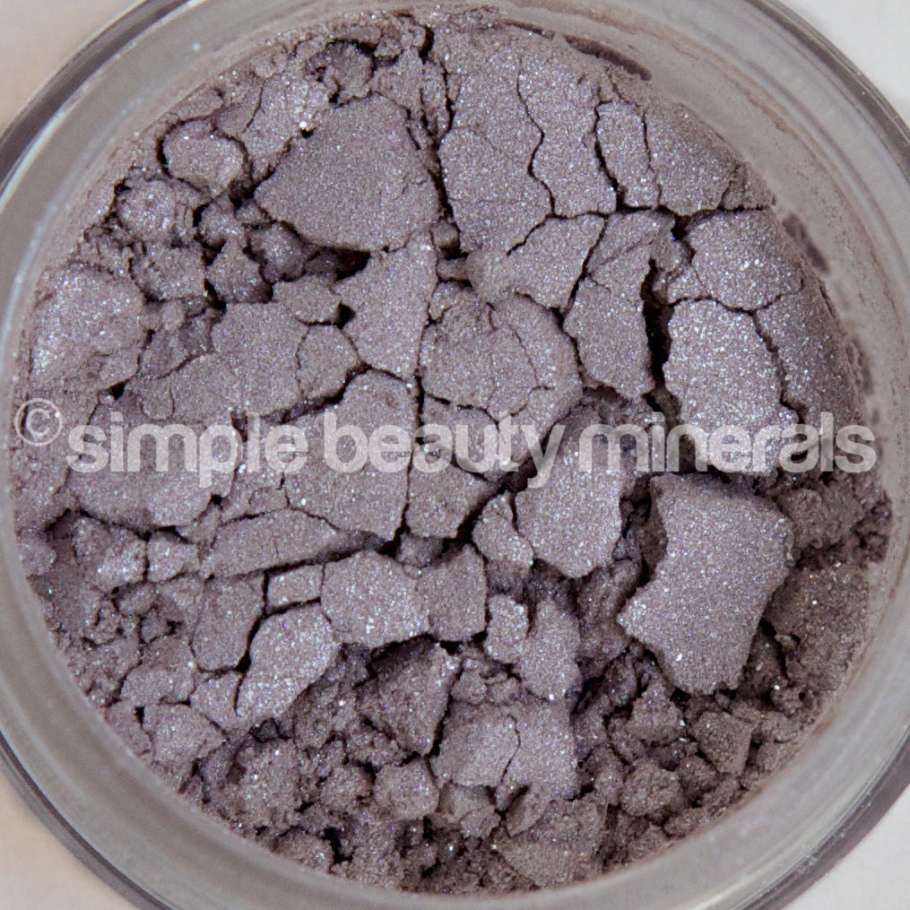 Simple Beauty Minerals - Lavender Silver Mineral Eyeshadow