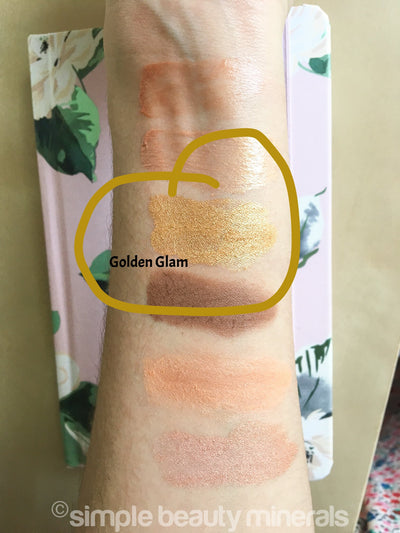 Simple Beauty Minerals - Golden Glam Mineral Eyeshadow 3