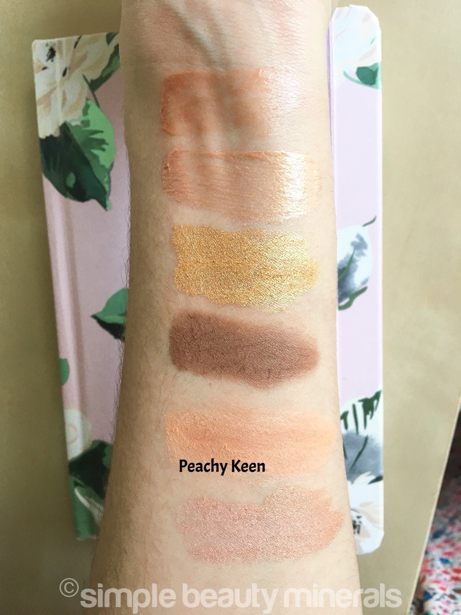 Simple Beauty Minerals - Peachy Keen Cheek Color