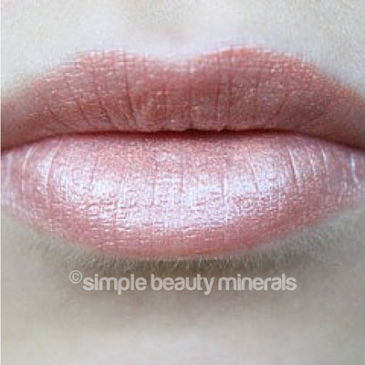 Simple Beauty Minerals - Peachcicle Mineral Organic LipGloss