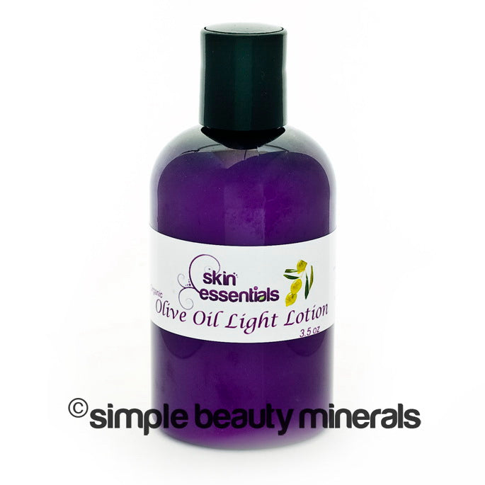 simpe beauty minerals - Olive Oil Light Lotion