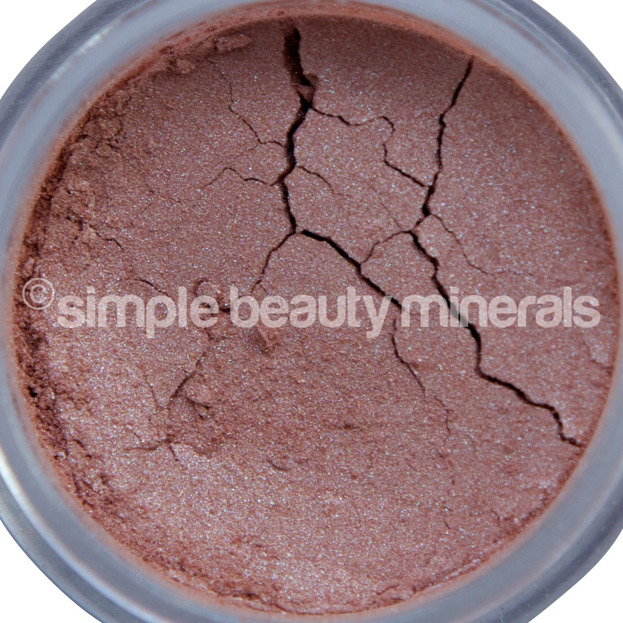 Peach Mineral Eyeshadow - Simple Beauty Minerals