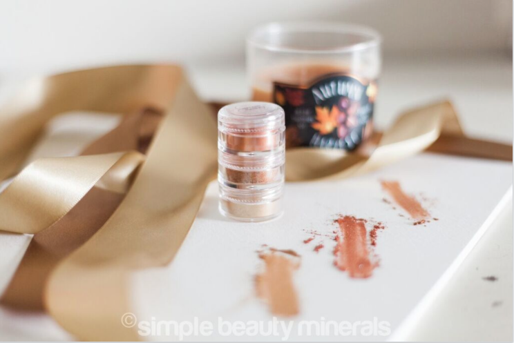 HOLIDAY! Pumpkin Pie Spice Mineral Eyeshadow Stacker