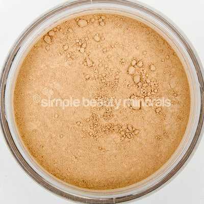 simple beauty minerals - Warm 1 Perfect Cover Mineral Foundation