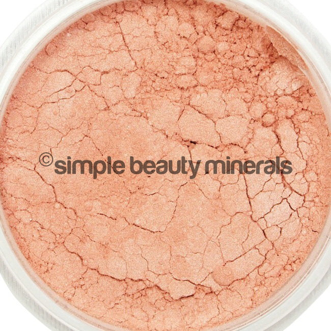 Simple Beauty Minerals - Warm Pink Shimmer Cheek Color