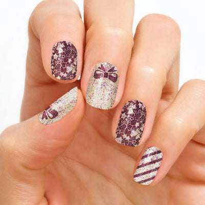Nail Polish Set - Nail Art & Glitter Designs