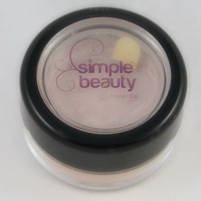 Simple Beauty Minerals - Lavender Silver Mineral Eyeshadow 2