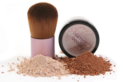 simple beauty minerals - Mineral Foundation - Fairly Medium 2