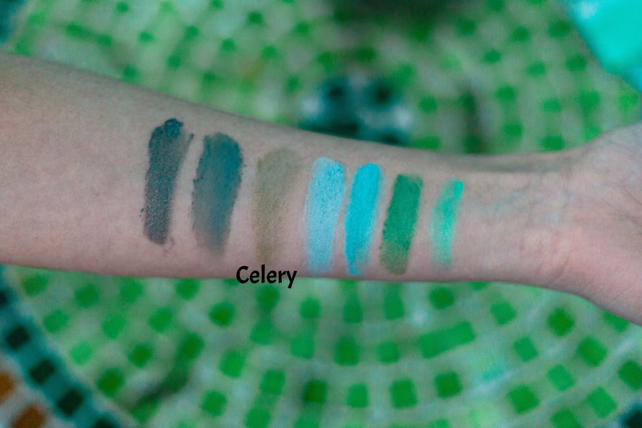 Celery Green Mineral Eyeshadow - Simple Beauty Minerals