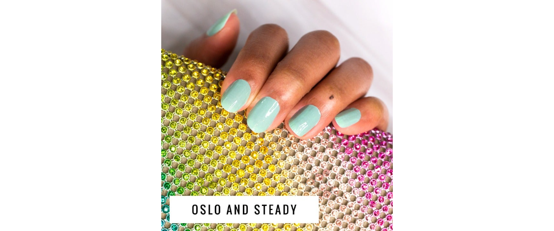Oslo and Steady Real Nail Polish Strips