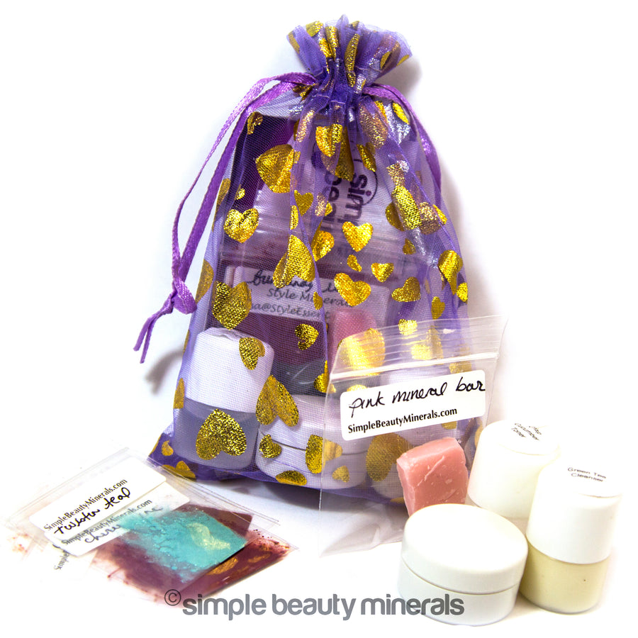 Simple Beauty Minerals - Custom Mineral Makeup Samples Packet