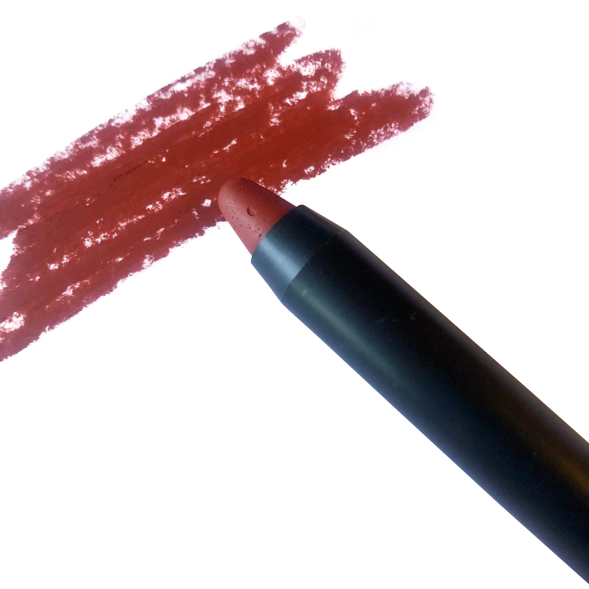 sumac lip pencil and swatch