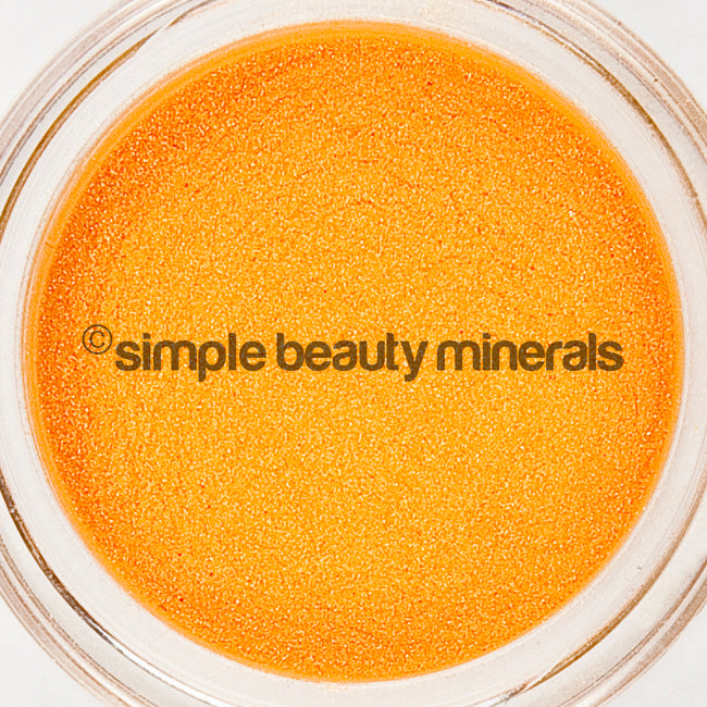 Simple Beauty Minerals - Tangerine Mineral Eyeshadow
