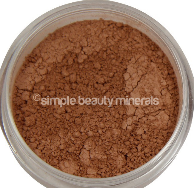Simple Beauty Minerals - Warm Matte Finish Powder