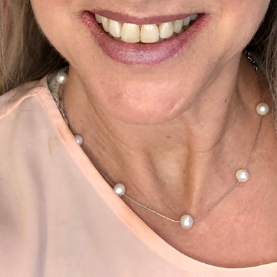 NEW! The Zoe Pearl Necklace