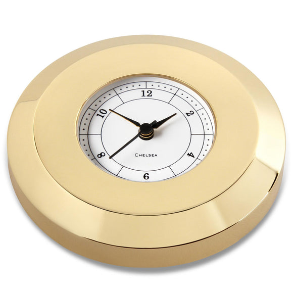 Chart Weight Clock in Brass