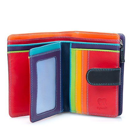 Medium 10 C/C Wallet w/Zip Purse