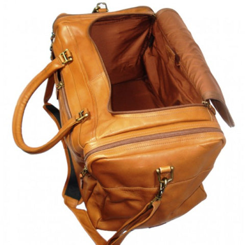 "Dorado 21"" Carry-On Leather Duffel"
