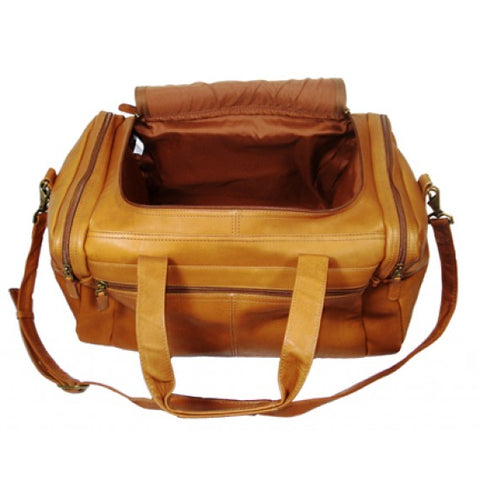 "Dorado 18"" Leather Duffel"