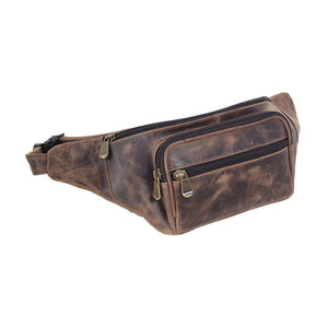 Distress Leather: Waist Pack