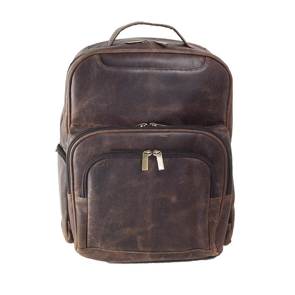 Distress Leather: Backpack