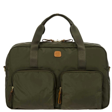 "BRIC'S X-Bag 18"" Boarding Duffle Bag with Pockets"