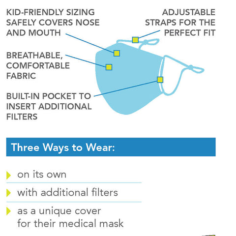 Kid's Protective Face Mask