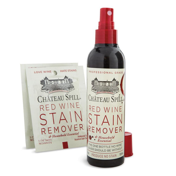 Chateau Spill Red Wine Stain Remover Spray Bottle