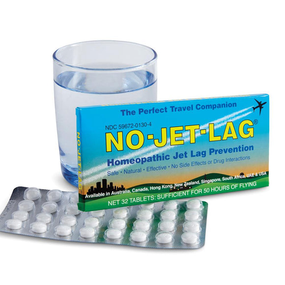 Homeopathic Jet Lag Prevention Tablets
