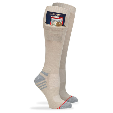 Passport Security Sock