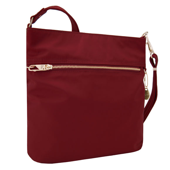 Anti-Theft Tailored North-South Slim Bag