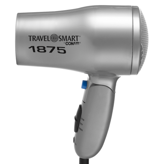 1875-Watt Hair Dryer, Dual Voltage