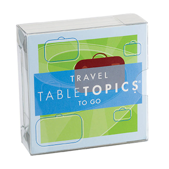 Table Topics To Go - Travel